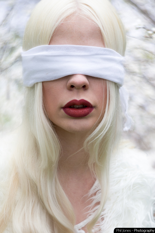 Petzval art lens: Blindfolded, A twisted fairytale photoshoot