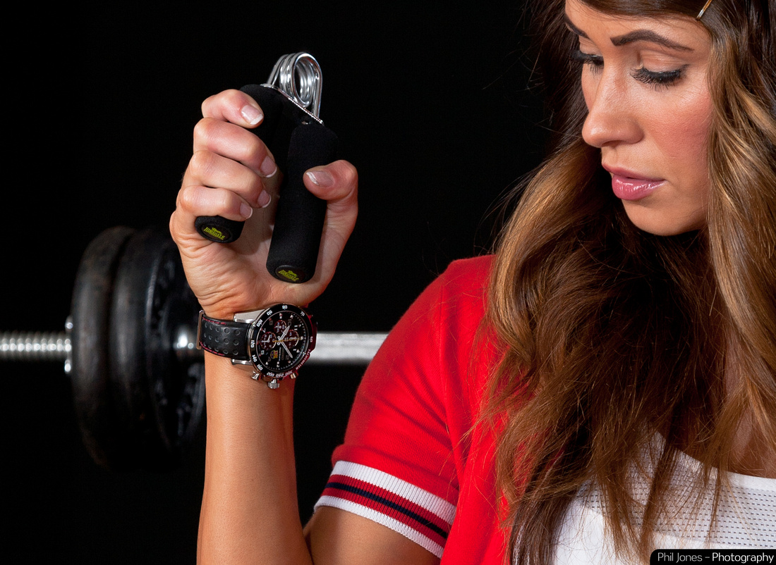 Strength and Beauty. Seiko Sportura Watch photo shoot in collaboration with Bellefontaines Jewellers, Billericay. Photography by Phil Jones Photography.