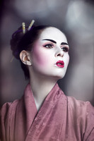 Geisha creative photography