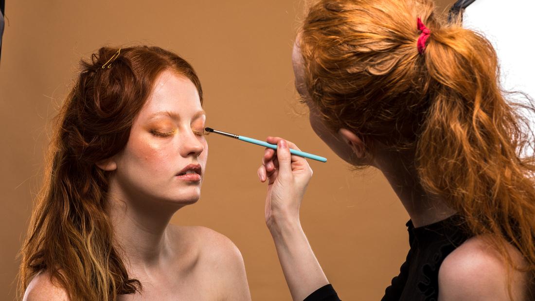 Makeup artist Gemma Howell