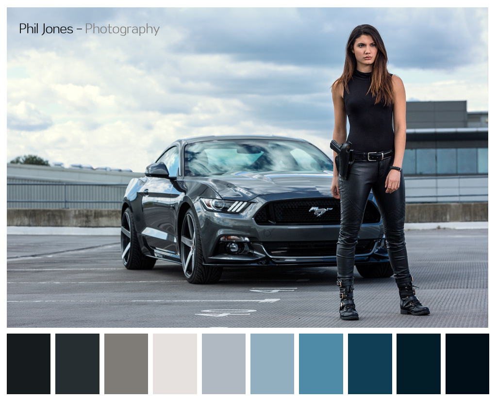 Using the Colour Palette in photography
