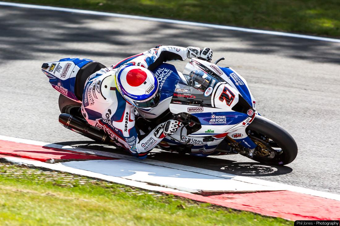 Professional motorbike racing photography image of Jake Dixon
