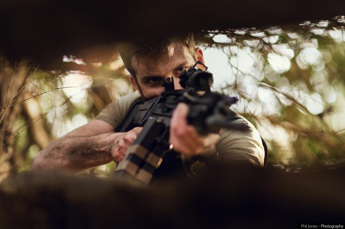 Stunt Performer Kit Burden Cinematic Photography