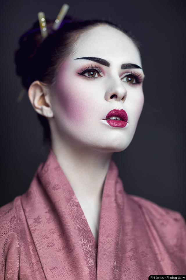Geisha styled photography
