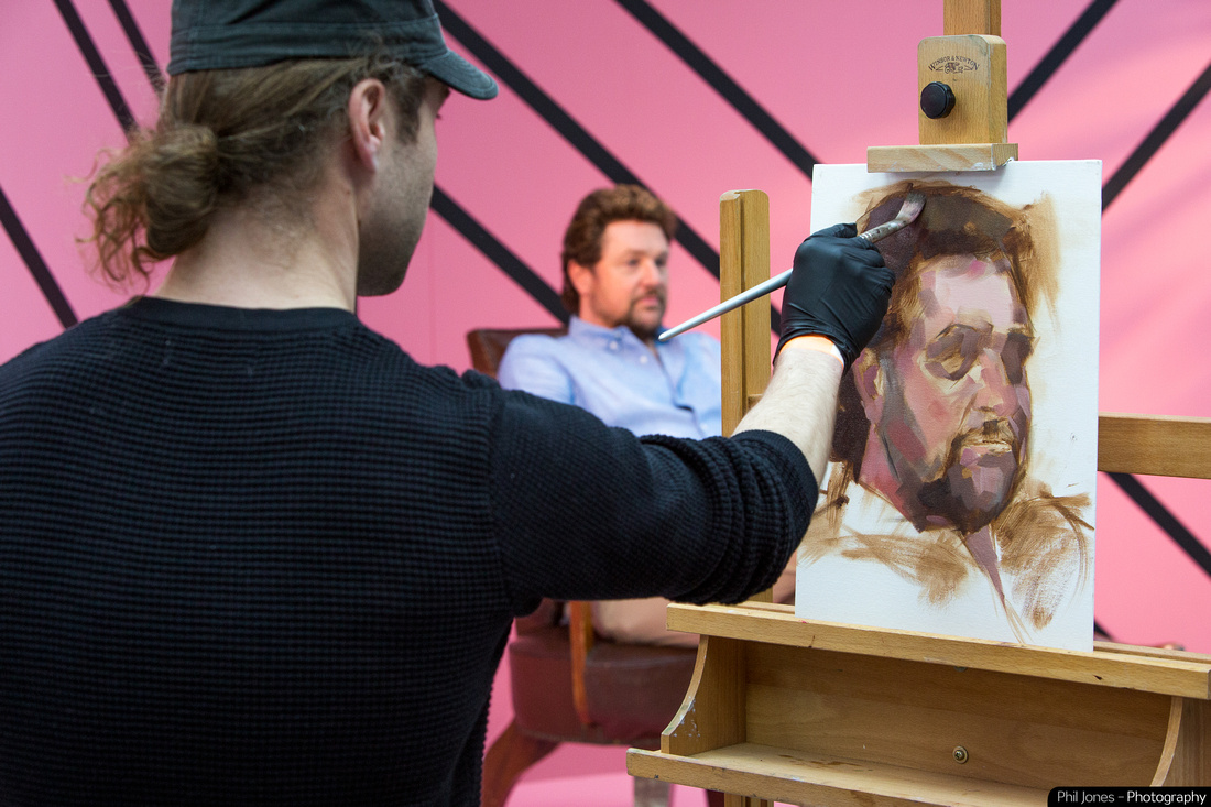 Sky Arts Portrait Artist of the Year, Michael Ball