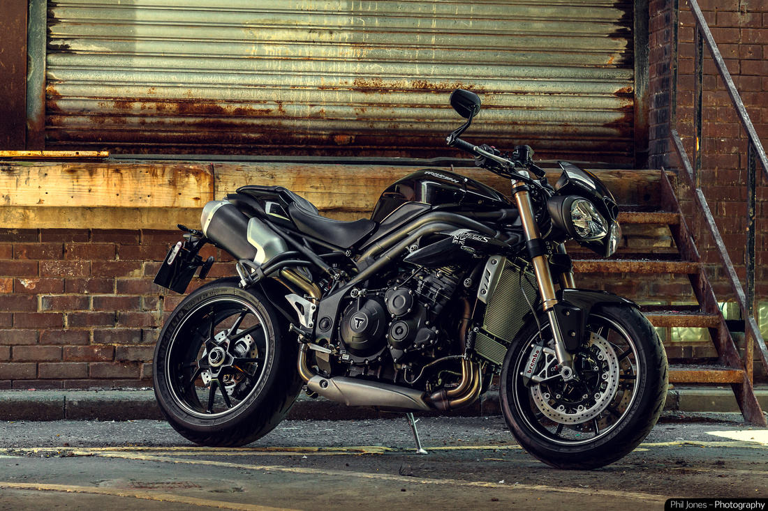 Triumph Speed Triple motorcycle art