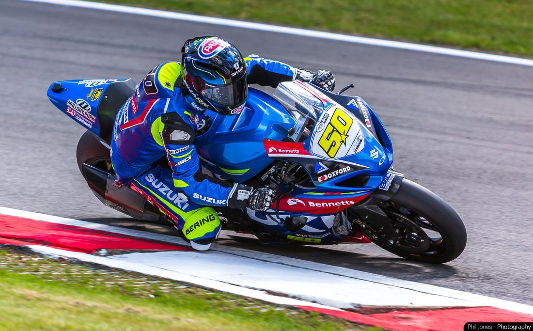 Motorcycle sports photography, Sylvain Guintoli at British Superbikes