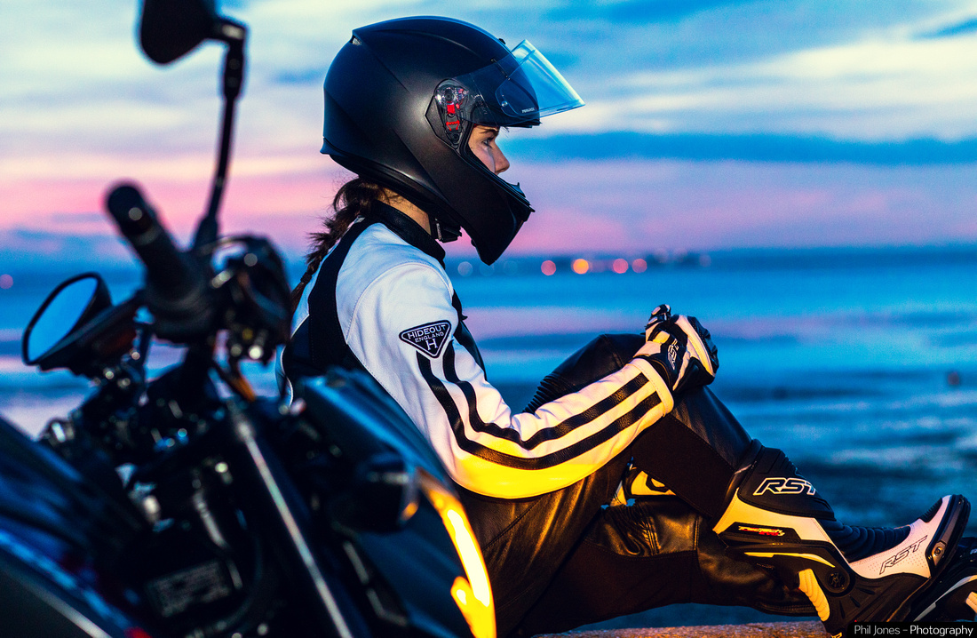 Lifestyle Motorcycle Photography forHideout Leather