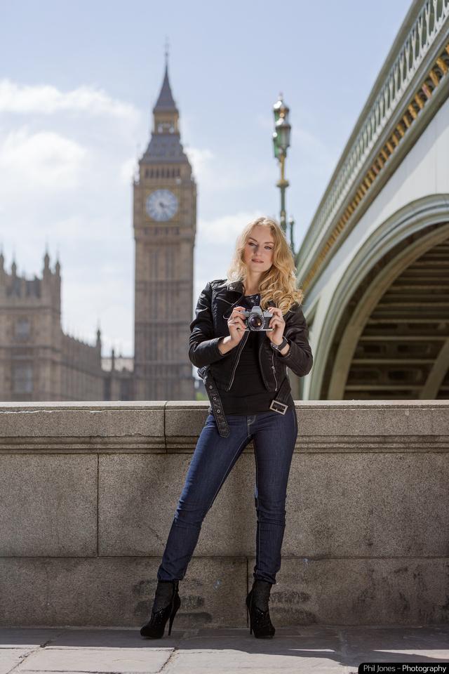 Fossil Boyfriend Watch shot in Westminster, London