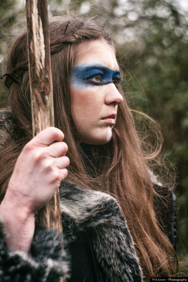 Tribal Hunter Fantasy Photography