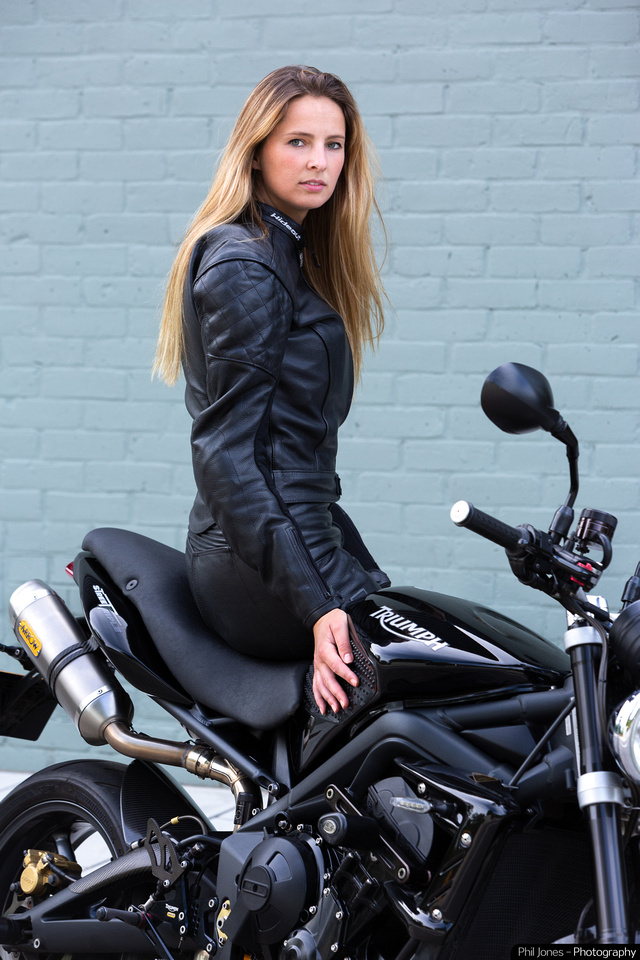 Hideout Leather women's motorcycle clothing