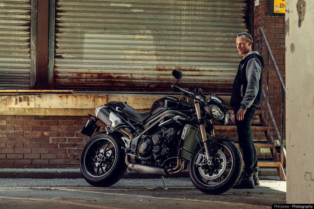 Triumph Motorcycles. Bike photography by The Adventures of Phil Jones