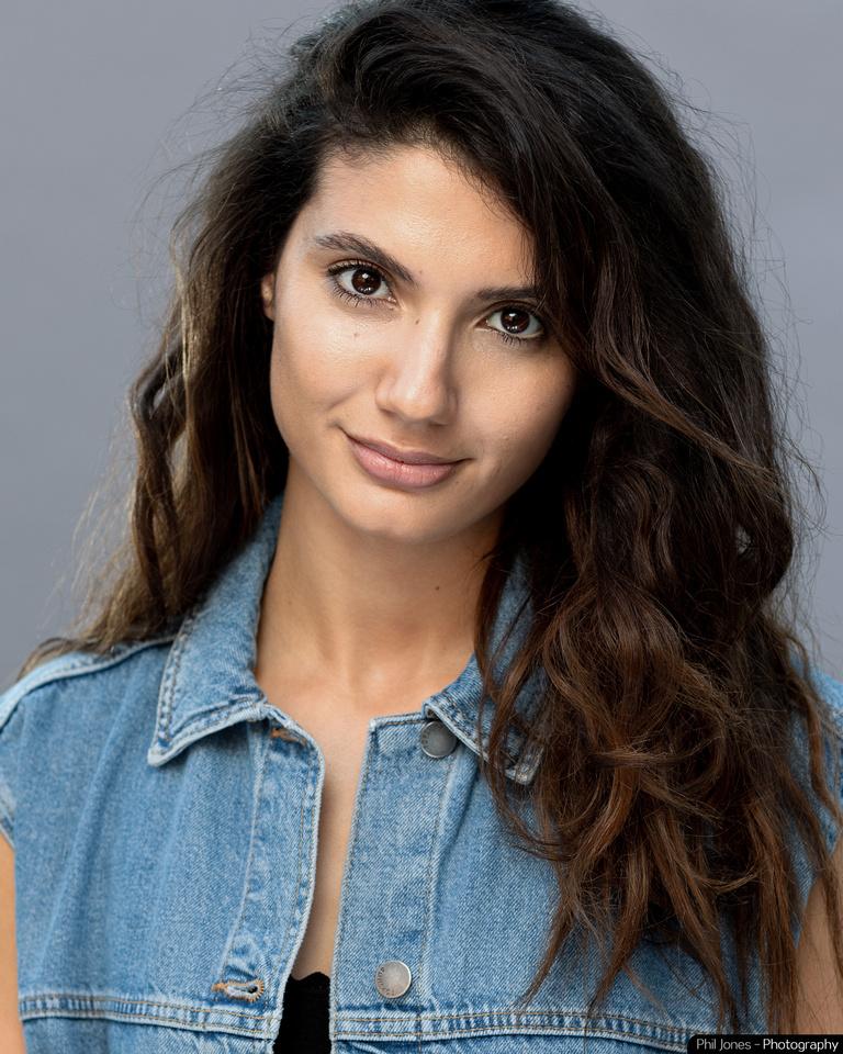 Actors headshot in Essex. Andrea Vasiliou