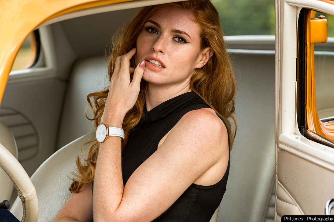 Ma-Ga London Hot Rod commercial photography. Whitechapel watch with Blanc leather strap.