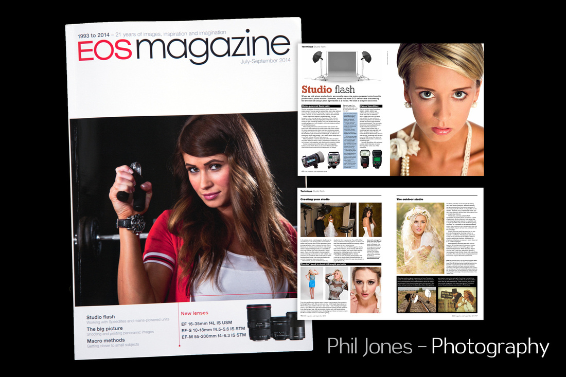 Image featured on front cover of EOS Magazine July - September 2014