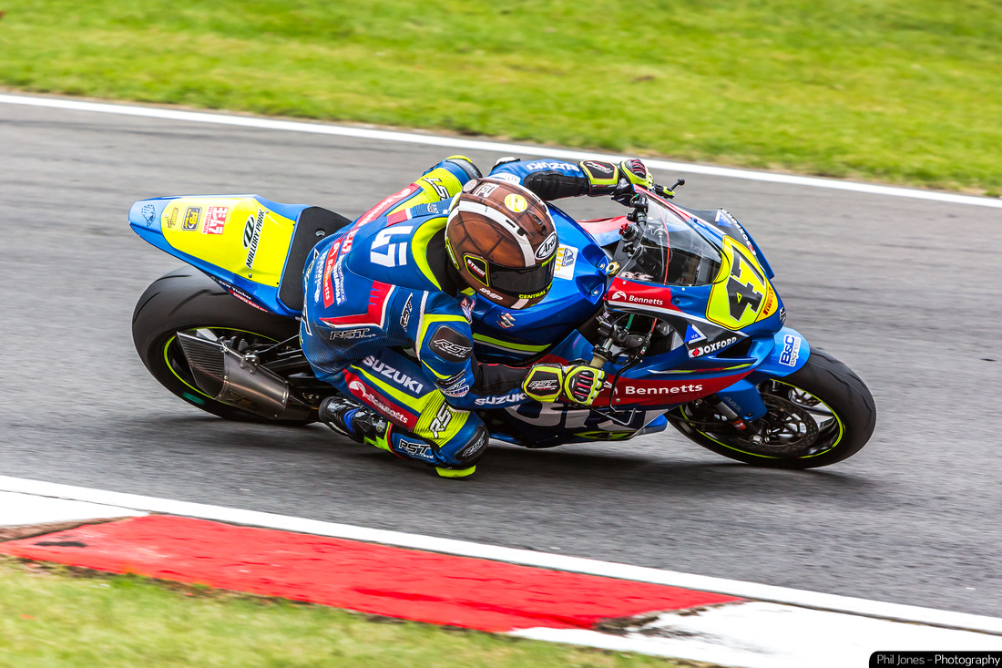 Richard Cooper, in the Pirelli National Superstock 1000 Championship