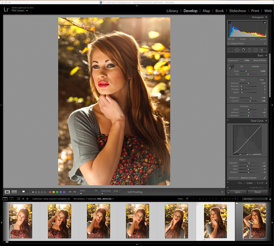 Image in Lightroom